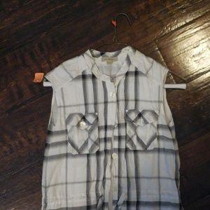 Burberry plaid tunic